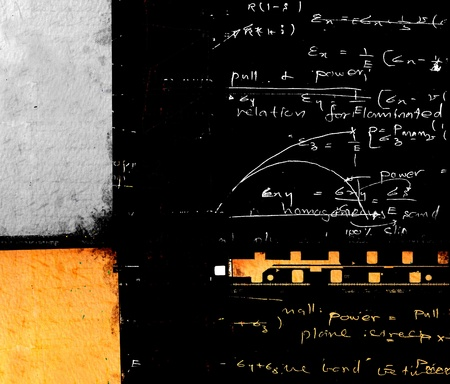 Close up of mathematical background Stock Photo - 8463003