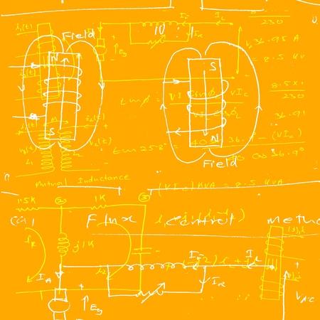 Electronic engineering illustration for background Stock Illustration - 8623091