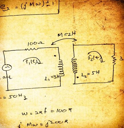 Electronic engineering illustration for background Stock Illustration - 8463046