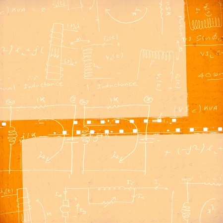 Electronic engineering illustration for background Stock Illustration - 8623093