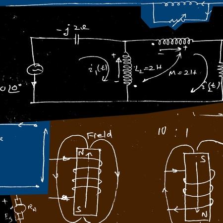 Electronic engineering illustration for background Stock Illustration - 8623088