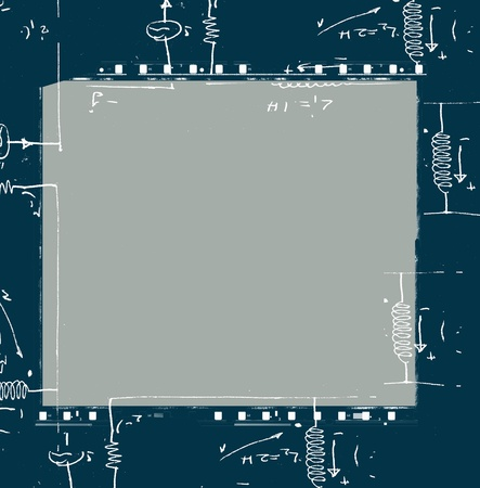 Electronic engineering illustration for background Stock Illustration - 8535669