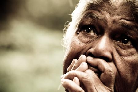 Arme Indiase vrouw Stockfoto - 10434875