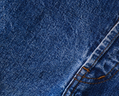 Close up of jean material photo