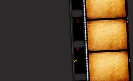 Close up of vintage movie film strips Stock Photo - 10658401