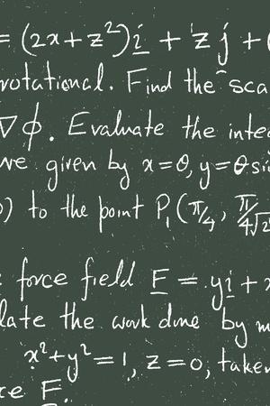 Close up of mathematical background photo