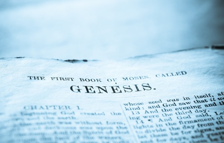 Close up of old Holy bible book Stock Photo - 10764937