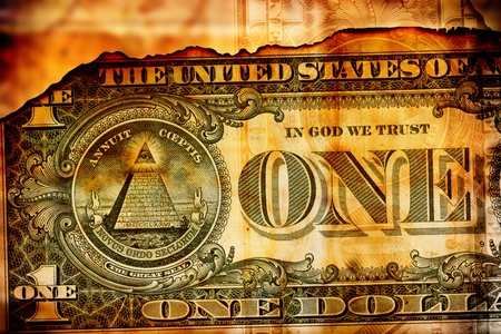 Close up of abstract US dollar background Stock Photo - 11576111