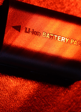 Close up of a battery pack photo
