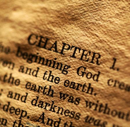 Close-up van de Heilige Bijbel Stockfoto
