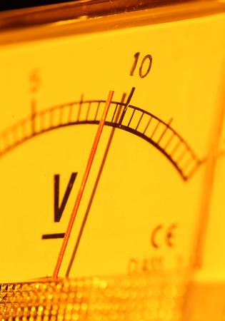 contador electrico: Cierre plano de un medidor el�ctrico