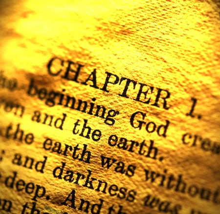 christian worship: Close up of  Holy bible