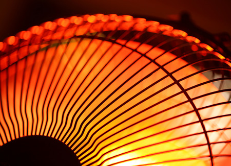 Close up of an electric Industrial Fan photo