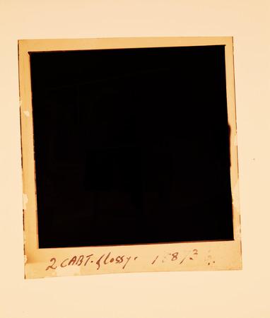Old 120 mm  Film reel folded