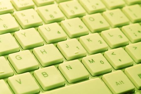 Close up of a computer keyboard photo