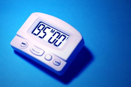 Close up of a Digital timer clock photo