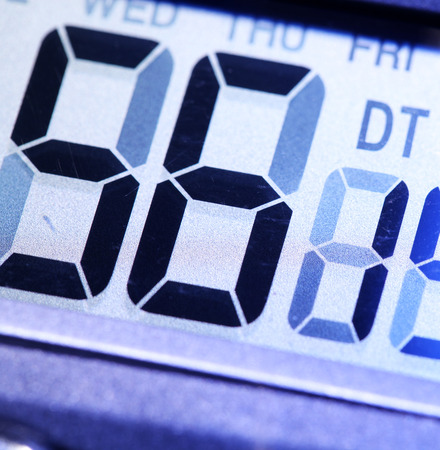 Close up of a Digital timer photo
