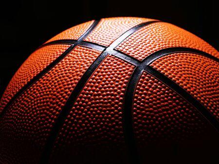 Basketball close up image