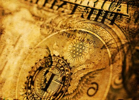 Close up U.S. dollar currency Stockfoto - 126662552