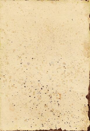 Close up of grungy old paper background