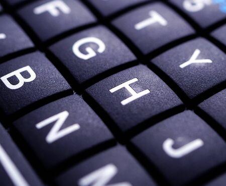 Mini Keyboard or Keypad close up Stockfoto