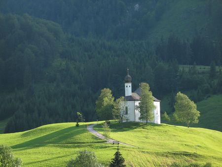 little chapel at Achensee, Austria photo