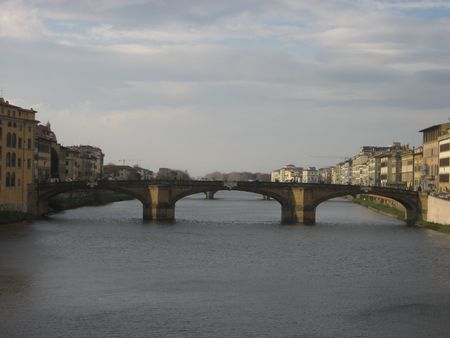 arno: Arno River in Florence, Italy Stock Photo