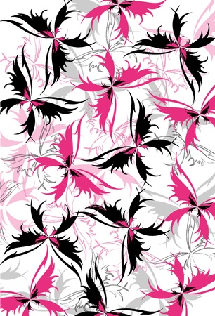 butterfly pattern: Butterfly pattern Illustration
