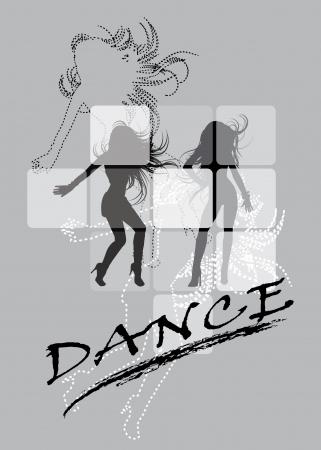 pring: Dancing silhouette