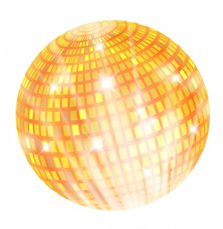 discoball: Discoball shiny illustration