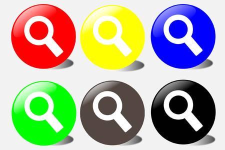 sliver: Search button Illustration