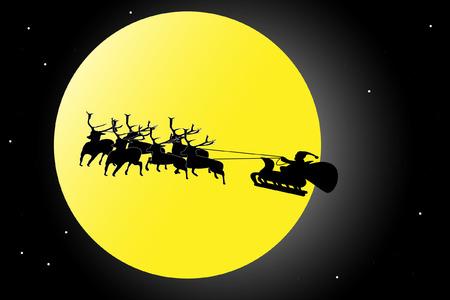 estrella de david: Papá Noel en el cielo