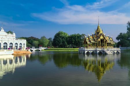 ayuthaya: Bang Pa-In Palace,Ayuthaya,Thailand Editorial