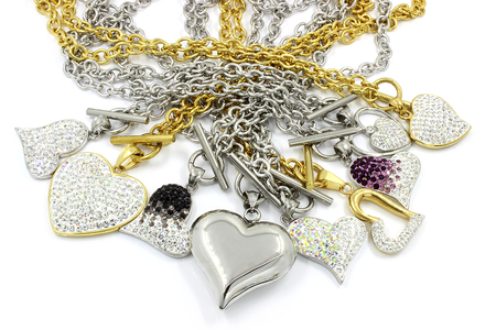 jewellry: Ladys necklace, surgical stainless steel