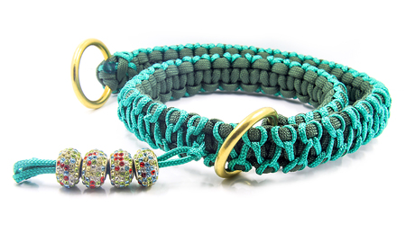 lead rope: Collar for large dog - Knitted - Paracords