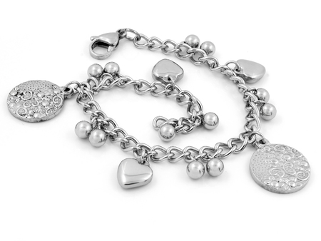 Ladies Bracelet - Stainless Steel - One color background
