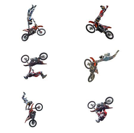 moto da cross: x, x, il divertimento, l'aria, corsa, il salto, in bicicletta, flip, alta, sporcizia, veloce, corsa, cross, pista, pilota, il potere, a ruota, del ciclo, i giochi, a motore, la velocit�, la pista, casco, attiva, equitazione, vincitore, serie, sport, azione, che battono, di libert�, di estrema, isolato, superstrada, off-road, motocro
