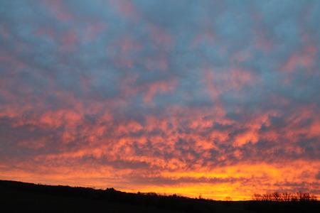 alpenglow: alpenglow at sunrise
