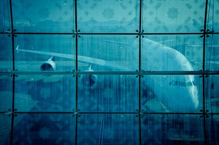 Vliegtuig voor te bereiden voor strijd in de lucht haven
