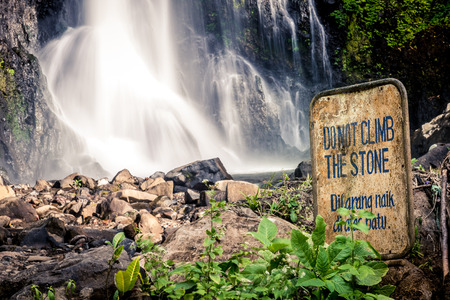 GitGit-waterval in Bali, Indonesië.