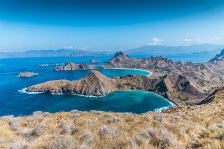 The most beautiful Island called Padar in Komodo island.