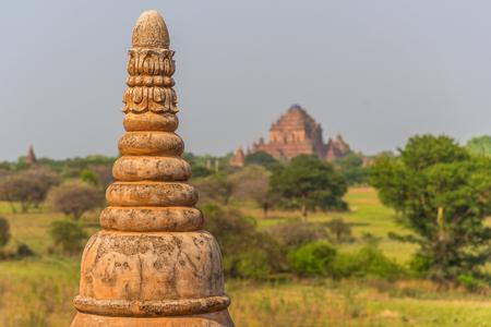 Pagodas and Stupas of Bagan, Myanmar, Burma Stockfoto