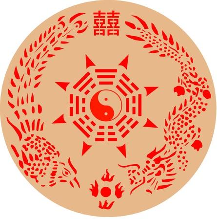 chi: Taiwan wedding totem