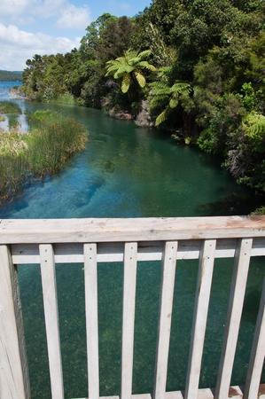 River from bridge Stock Photo