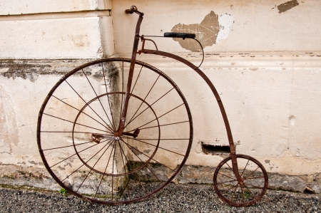 penny: Vintage Penny Farthing bicycle