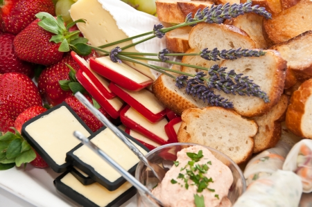 Selection of appetizers Stock Photo