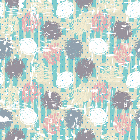 Pleasant gentle textiles for home. Vector background. Shabby wallpaper. Art textile.