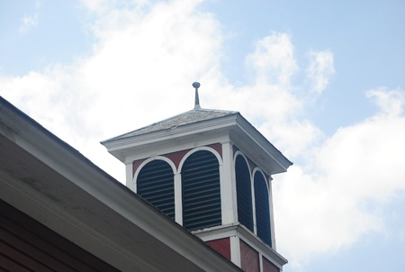 cupola: Cupola on a Roof Stock Photo