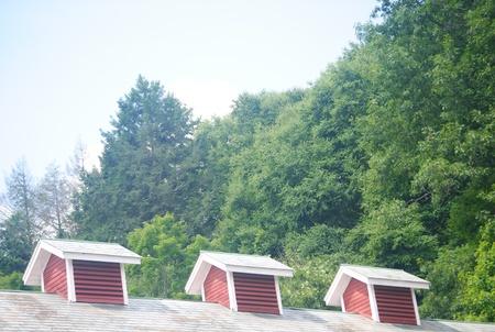 cupolas: Three Cupolas Stock Photo