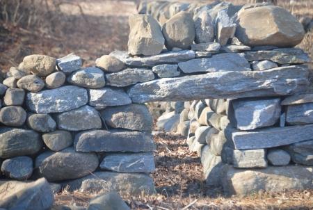 Stone wall Reklamní fotografie